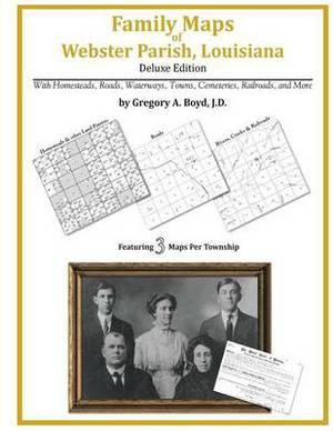 Family Maps of Webster Parish, Louisiana