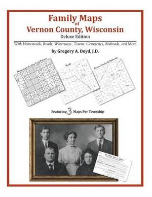 Family Maps of Vernon County, Wisconsin