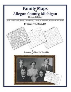 Family Maps of Allegan County, Michigan