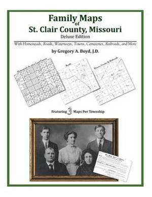 Family Maps of St. Clair County, Missouri