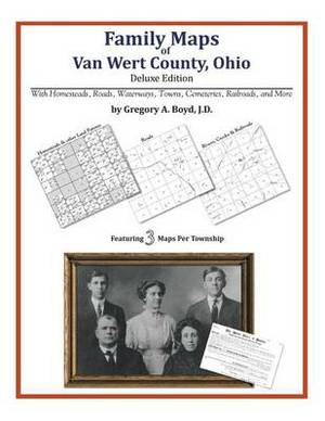 Family Maps of Van Wert County, Ohio