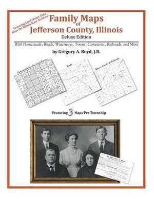 Family Maps of Jefferson County, Illinois