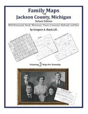 Family Maps of Jackson County, Michigan