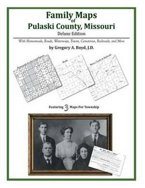 Family Maps of Pulaski County, Missouri