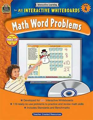 Interactive Learning: Math Word Problems Grd 4