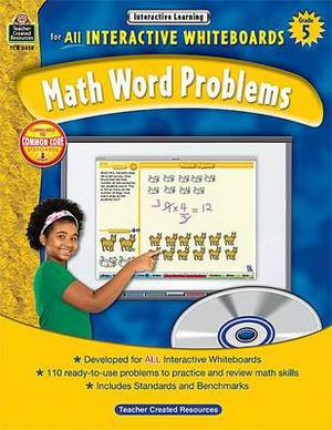 Interactive Learning: Math Word Problems, Grade 5