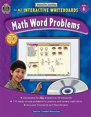Math Word Problems, Grade 6