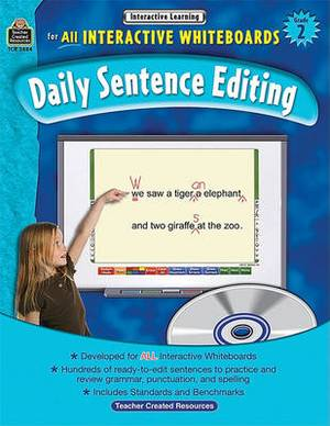 Interactive Learning: Daily Sentence Editing, Grade 2