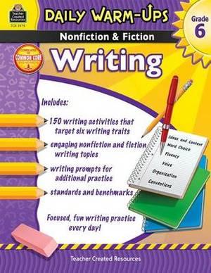 Nonfiction & Fiction Writing, Grade 6