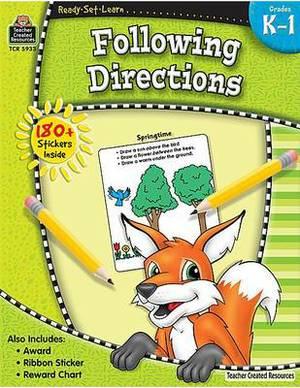 Following Directions, Grades K-1
