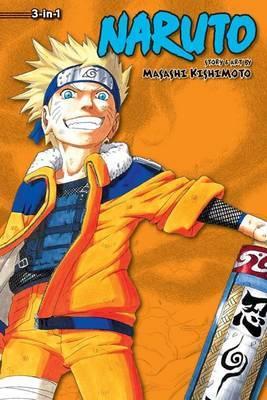 Naruto (3-in-1 Edition), Vol. 4: Includes Vols. 10, 11 & 12: Volumes 10, 11 & 12