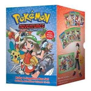 Pokemon Adventures Ruby & Sapphire Box Set: Volumes 15-22