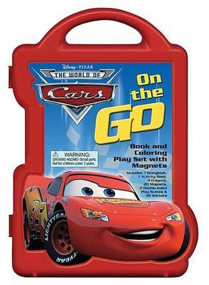 Cars Book & Magnetic Play Set