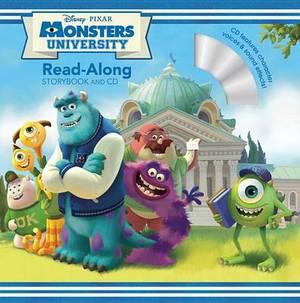 Monsters University Read-Along Storybook