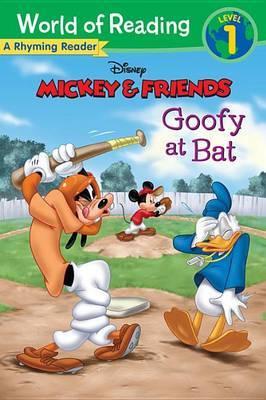 Mickey & Friends Goofy at Bat  : A Rhyming Reader