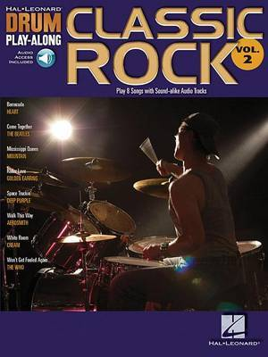 Drum Play-Along Volume 2: Classic Rock (Book/Online Audio)