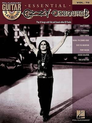 Guitar Play-Along: Ozzy Osbourne: Volume 70