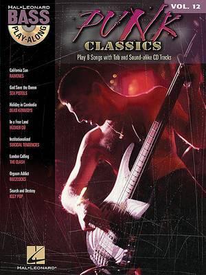Bass Play-Along: Punk Classics: Volume 12