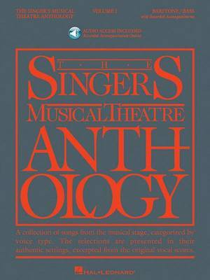 The Singers Musical Theatre Anthology: Baritone/Bass