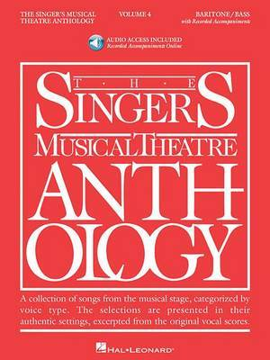 The Singer's Musical Theatre Anthology, Volume 4: Baritone/Bass