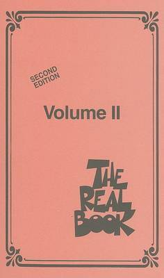 The Real Book Volume II Mini Pocket C Edition Fake Book Bk
