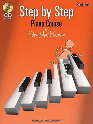Edna Mae Burnam: Step By Step Piano Course - Book 5