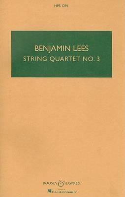 String Quartet No. 3: Study Score