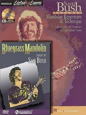 Sam Bush Teaches Mandolin Repertoire & Technique/ Bluegrass Mandolin