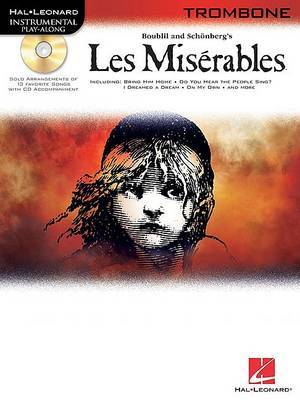 Les Miserables Play-Along Pack: Trombone (Bass Clef)