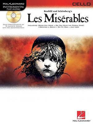 Les Miserables Play-Along Pack - Cello