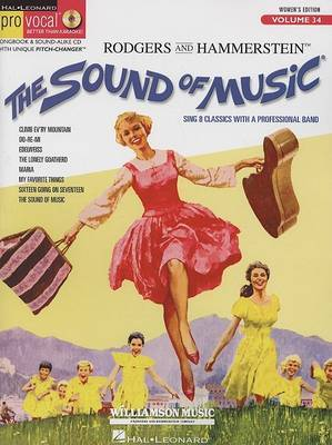 Pro Vocal: The Sound of Music (Women's Edition): v. 34: Women's Edition