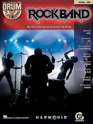 Drum Play-Along: Rock Band: Volume 20