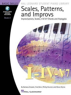 Scales, Patterns & Improvs - Book 2 (Book/Online Audio)