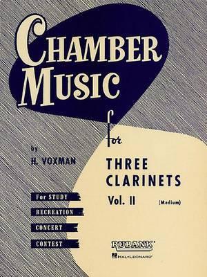 Chamber Music for Three Clarinets