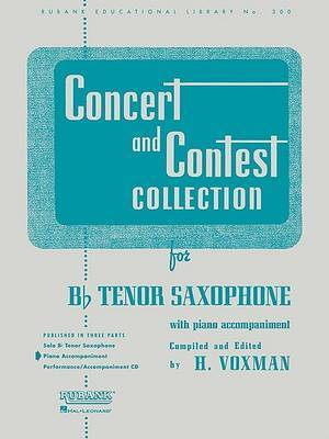 Concert and Contest Collection for B Flat Tenor Saxophone: With Piano Accompaniment