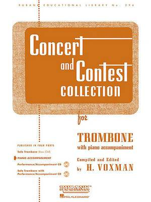 Concert and Contest Collection for Trombone: With Piano Accompaniment