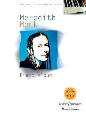 Meredith Monk Piano Album: Solo Piano and 2 Pianos