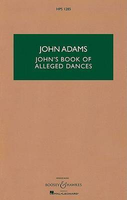 John's Book of Alleged Dances: For String Quartet and Pre-Recorded Tape