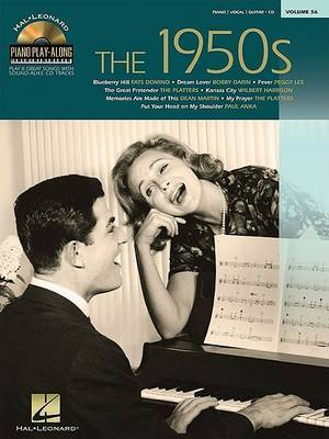 Piano Play-Along: The 1950s: Volume 56