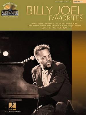 Piano Play-Along: Billy Joel Favourites: Volume 61