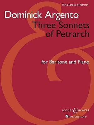 Three Sonnets of Petrarch: For Baritone and Piano