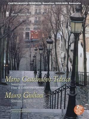 Castelnuovo-Tedesco: Sonatina & Giulini: Serenata Op. 127  : Flute Play-Along Pack