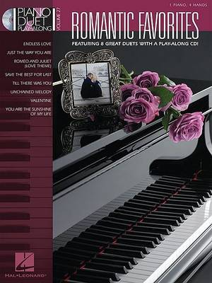 Romantic Favorites: Piano Duet Play-Along Volume 27