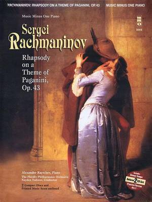 Rachmaninov - Rhapsody on a Theme of Paganini: Book/2 CDs Pack