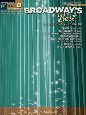 Broadway's Best: Pro Vocal Men's Edition
