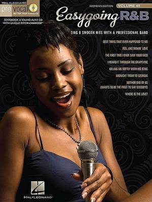 Pro Vocal Women's Edition: Easy Going R&B: Volume 48
