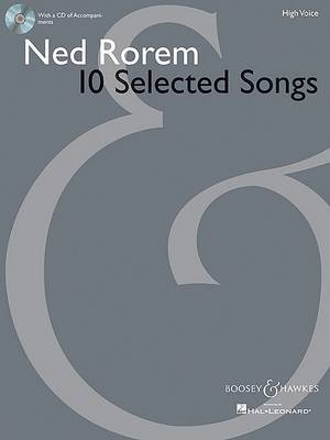 Ned Rorem 10 Selected Songs: High Voice