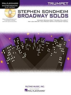 Trumpet Play-Along: Stephen Sondheim - Broadway Solos