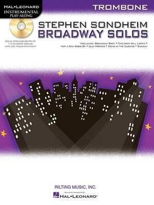 Trombone Play-Along: Stephen Sondheim - Broadway Solos