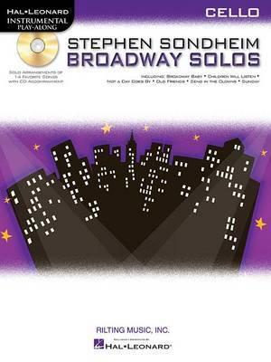 Cello Play-Along: Stephen Sondheim - Broadway Solos